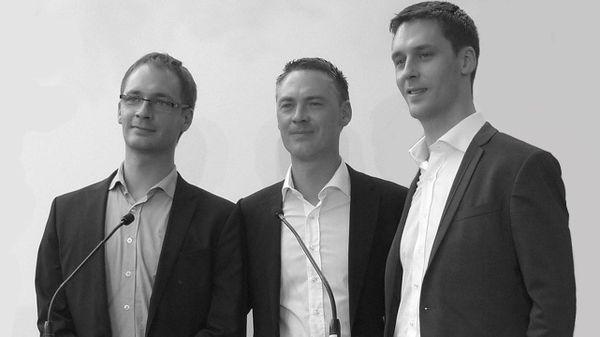 Unseenlabs - les trois frères associés: Jonathan, Benjamin et Clément Galic