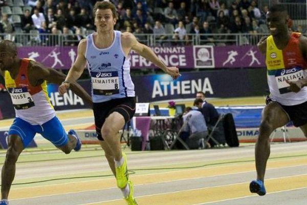 Christophe Lemaitre remporte le 60m puis le 200m en salle à Aubière