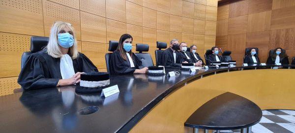 rentrée judiciaire au tribunal de Bastia.