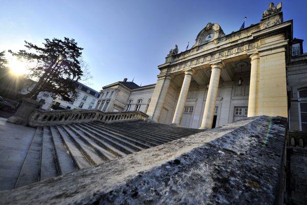 Le palais de justice d'Auxerre (Yonne) en 2011. (archives)