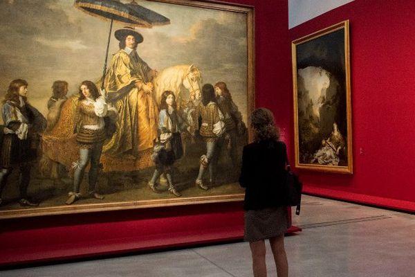 Expo Charles Le Brun au Louvre-Lens.