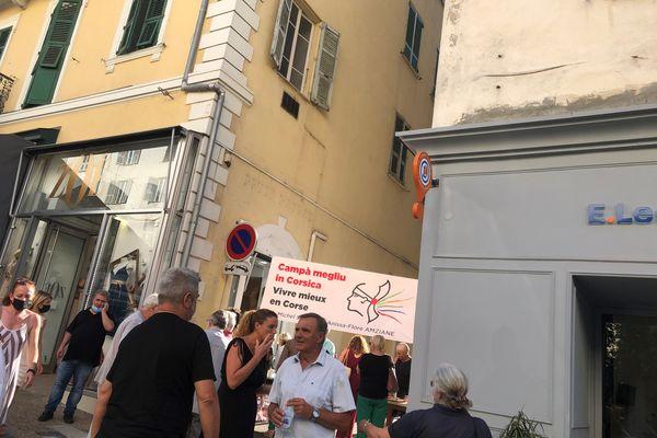 """La liste """"Campà megliu in Corsica / Vivre mieux en Corse"""" s'inquiète d'un fort taux d'abstention."""