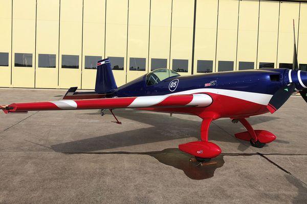L'équipe de France de voltige est également présente sur la base aérienne de Solenzara.