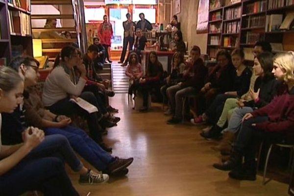 Comité de lecture ado à la librairie Nemo de Montpellier