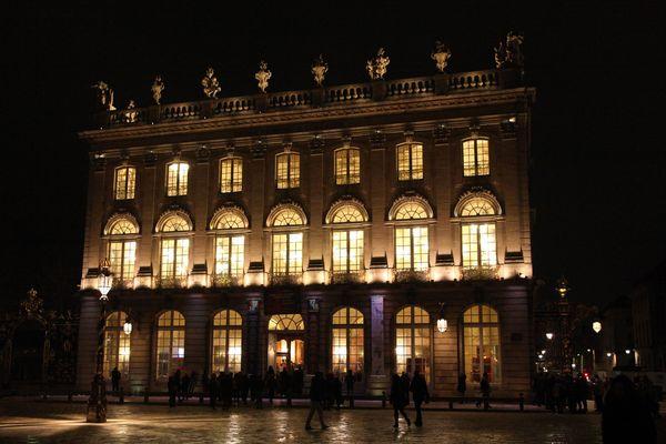 L'Opéra National de Lorraine, Place Stanislas à Nancy.