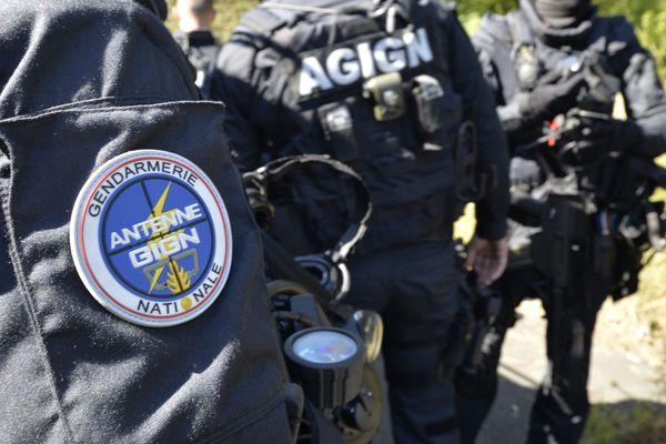 C'est le GIGN  qui a interpellé avec d'autres gendarmes les quatre suspects.