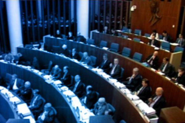 Hémicycle du conseil départemental du Loiret