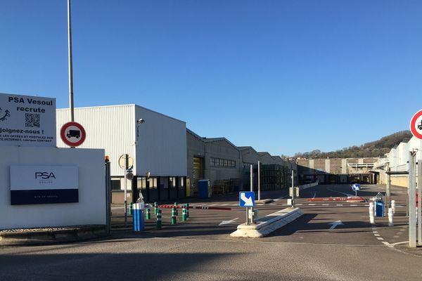2600 salariés travaillent sur le site PSA de Vesoul (Haute-Saône)
