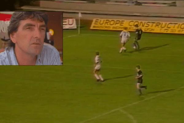 Robert Dewilder, ancien entraîneur du LFC, se souvient de la victoire décrochée à Lyon en août 1986.
