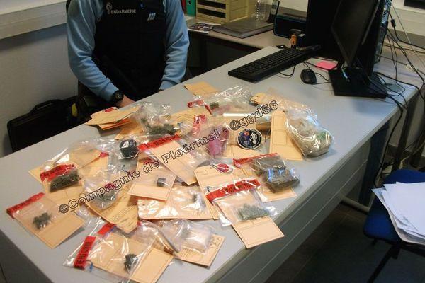 Du cannabis et de l'héroïne saisis par les gendarmes du Morbihan