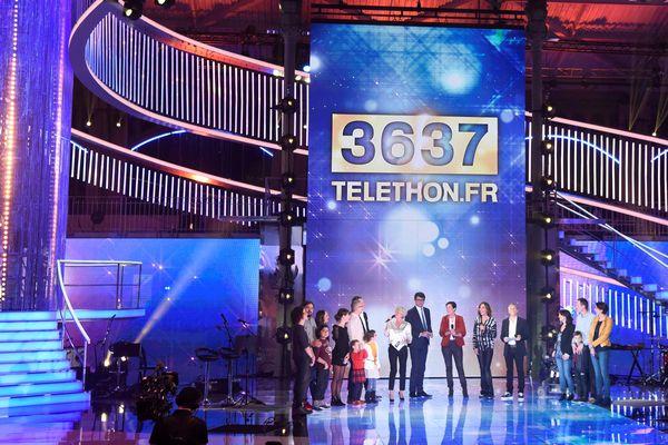 La grande soirée du Téléthon le 8 décembre 2017.