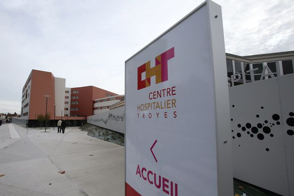 Le centre hospitalier de Troyes.
