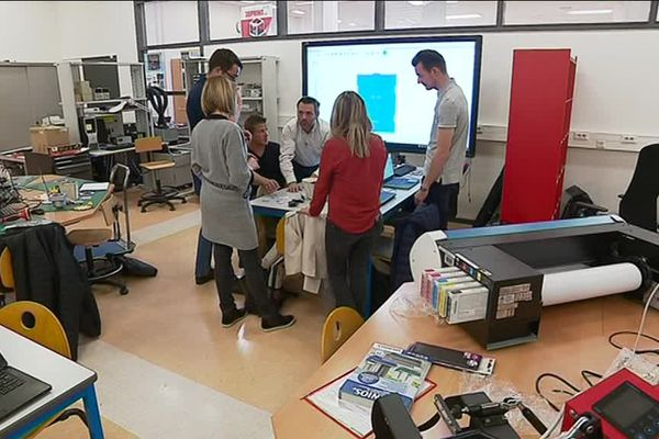 Le Crunch lab accueille étudiants, chercheurs et industriels dans les locaux de l'université de technologie de Belfort Montbéliard