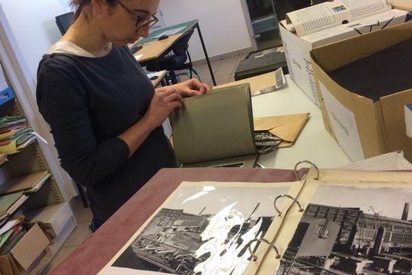 Les archives du Calvados vient de récupérer les archives iconographiques de la Société Métallurgique de Normandie