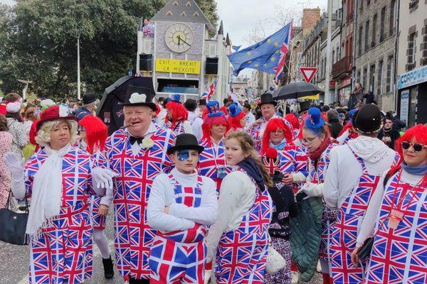 L'actualité du Brexit s'invite lors de la 146e édition du Carnaval de Granville.