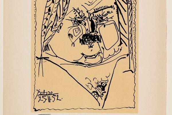 Balzac par Picasso