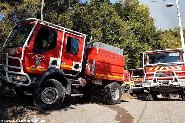 Les pompiers sont toujours mobilisés ce samedi à Tende.