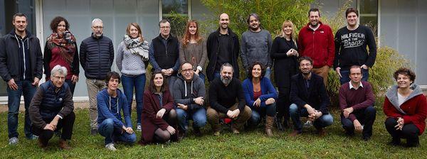 Fabrice Gaillard et son équipe de recherche de l'Isto.