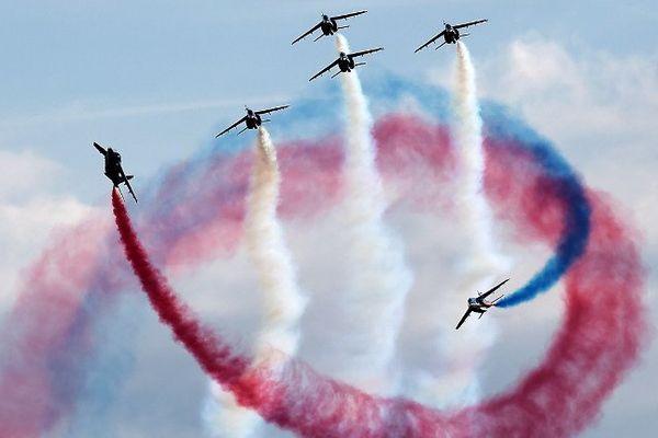 La patrouille de France survolera la Corse, le jeudi 11 août (Archives)
