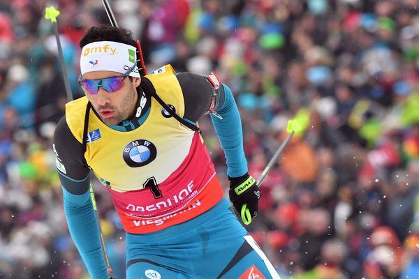Martin Fourcade remporte la poursuite d'Oberhof en Allemagne