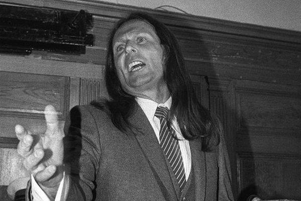 Tommy Recco, lors de son procès à Draguignan le 06 juin 1983.