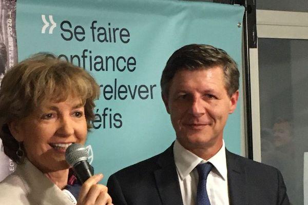 Nicolas Florian et Isabelle Juppé