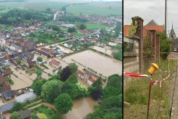 Pas-en-Artois retrouve petit à petit son aspect d'avant les inondations