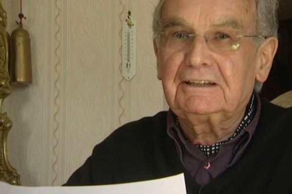 Robert Hébras, survivant du massacre d'Oradour-sur-Glane