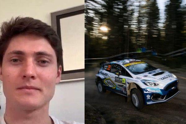 Adrien Fourmaux, pilote de rallye, avait effectué un beau début de saison avant d'entrer en confinement.