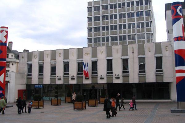 Hotel de ville de Châteauroux (Indre)