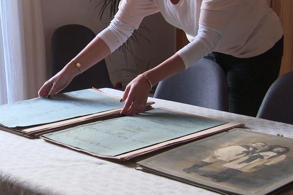 Cours de dessins industriels et photos ont été découverts dans une maison à Saint-Gobain dans l'Aisne