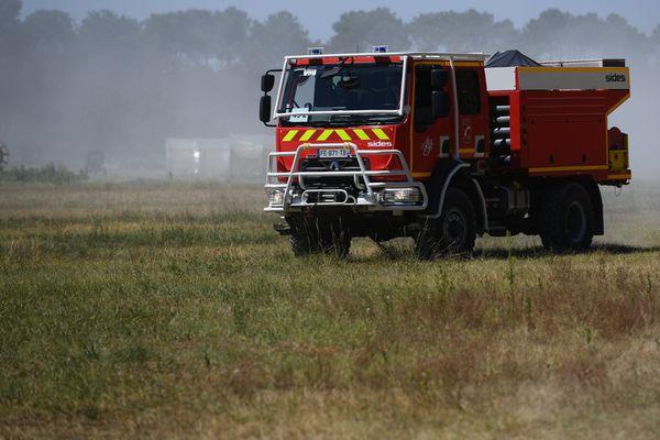 Le risque de feu de forêt était considéré comme élevé dans le département de la Loire ce 20 août 2020.
