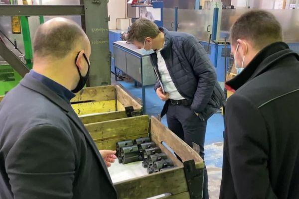L'entreprise Bétrancourt à Albert est spécialisée dans la fabrication de pièces de structures pour avions.