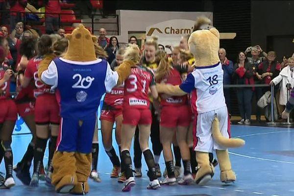 Victoire de l'ESBF contre les polonaises du Perla Lublin.