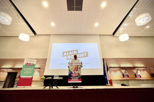 La liste menée par Alain Rousset, en tête du second tour des élections régionales de 2021.