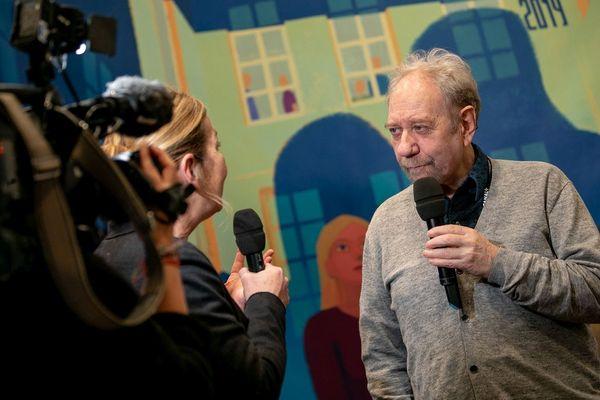 Jackie Berroyer et les autres membres du jury devront départager 54 courts-métrages.