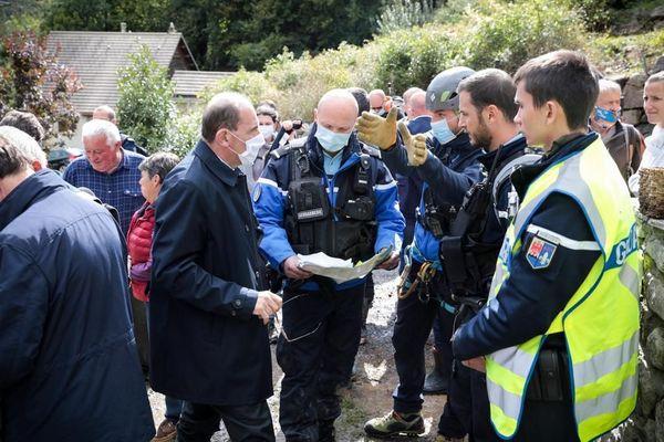 """""""Je ne vous cache pas notre vive inquiétude sur le bilan définitif de cet épisode"""", déclare Jean Castex dans les Alpes-Maritimes ce samedi."""