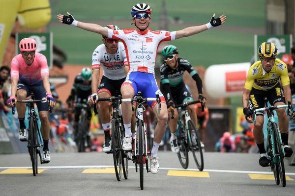 David Gaudu (Groupama-FDJ) remporte la troisième étape du Tour de Romandie - 3/05/2019