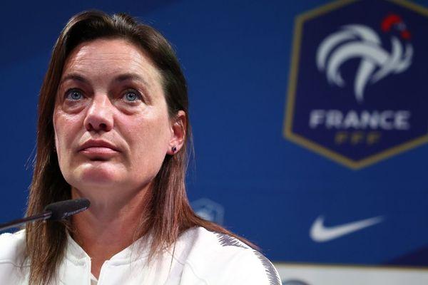 Corinne Diacre sera aux côtés de l'équipe de France féminine de football lors de la rencontre France/Corée du Sud ce vendredi 7 juin