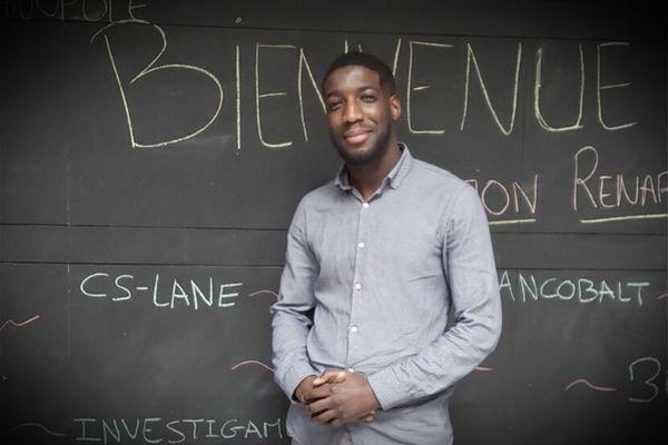 Hamédine Sall, créateur de la société CS Lane