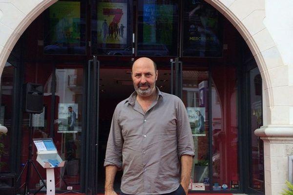 Cédric Klapisch à Saint-Jean-de-Luz pour le festival internationl du film