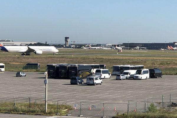 site d'airbus à Toulouse 8/07/2020
