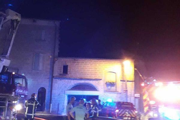 Incendie mortel dans un immeuble d'Uzès le 12 septembre 2021