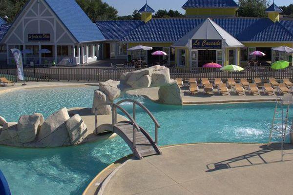 La piscine du camping à Merlimont