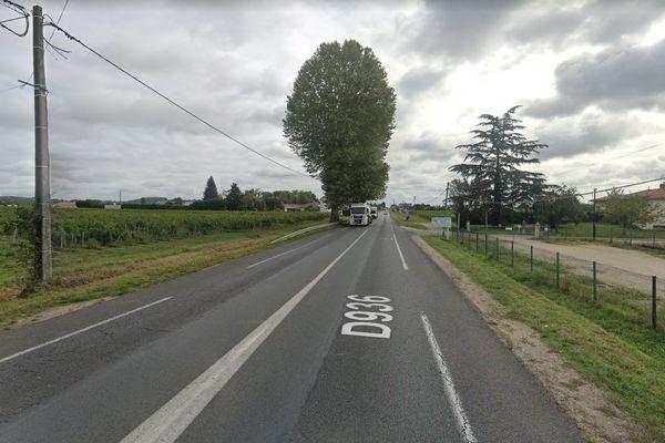 Le motard, très gravement blessé à été héliporté au CHU de Bordeaux.