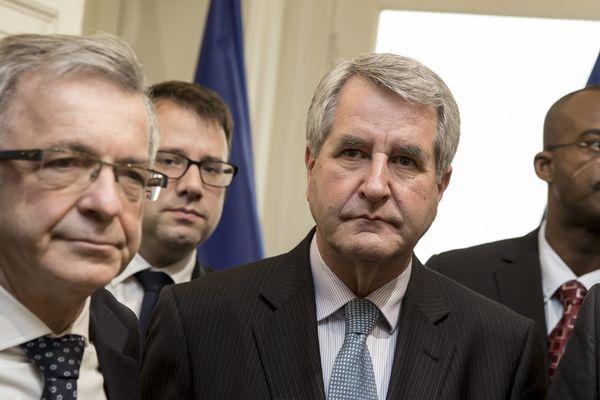 François Bonneau (PS) et Philippe Richert, présidents de l'Association des régions de France