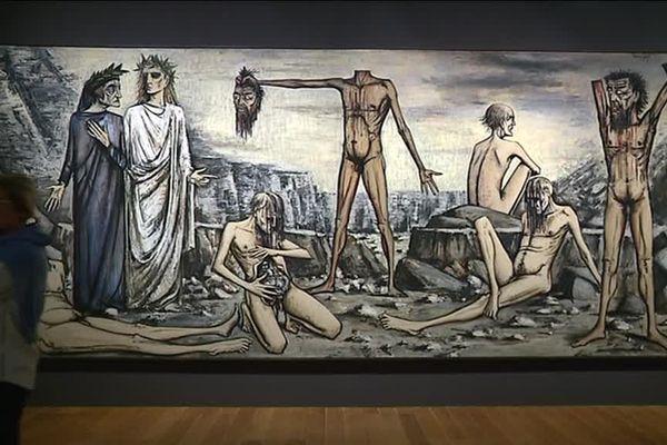 L'exposition du MuCem de Marseille retrace ombres et lumières de Jean Giono, hanté par le fracas de la guerre.