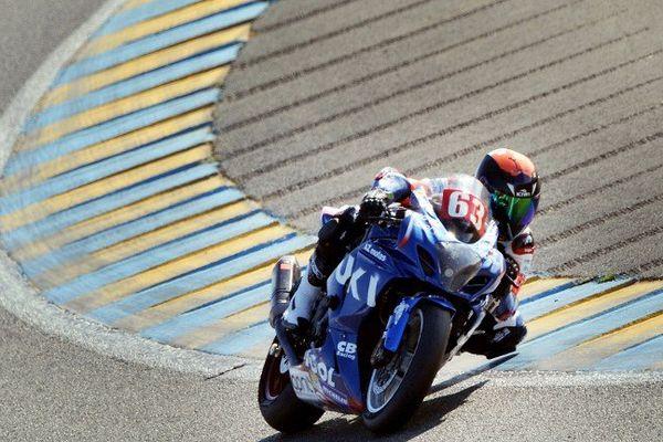 Renaud Lavillenie a participé aux essais sur la Suzuki GSXR N°63. Mais pour le perchiste clermontois, les 24 heures du Mans se sont arrêtées brutalement, après la chute de son coéquipier le 20 septembre.
