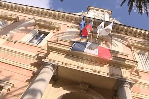 ILLUSTRATION - Hôtel de ville d'Ajaccio