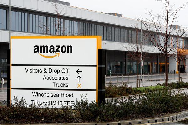 L'entreprise Amazon à Tilbury, Essex en Angleterre